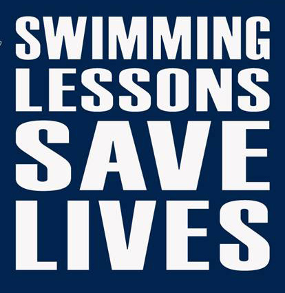Swimming Lessons, save lives