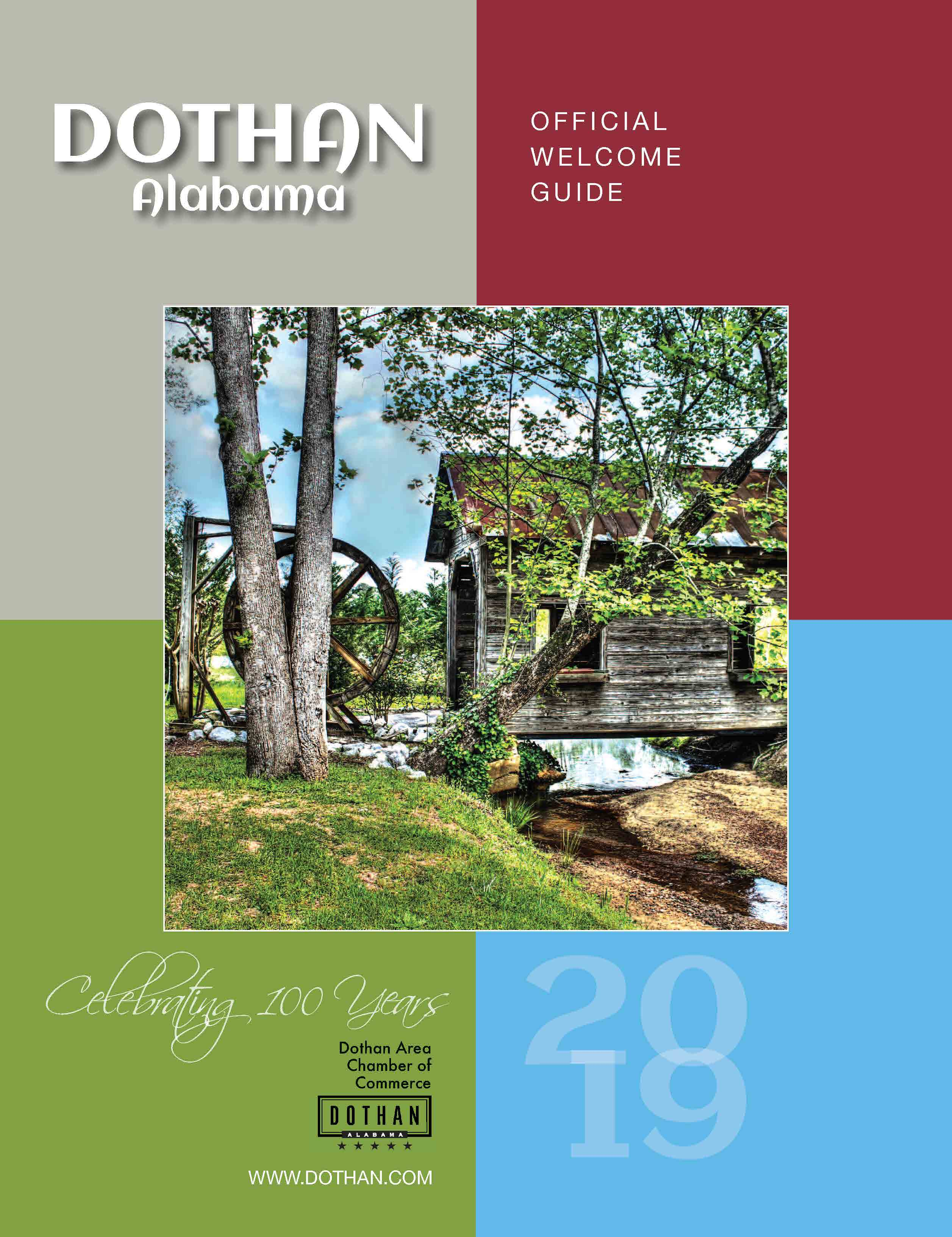 2019 Dothan Official Welcome Guide Opens in new window